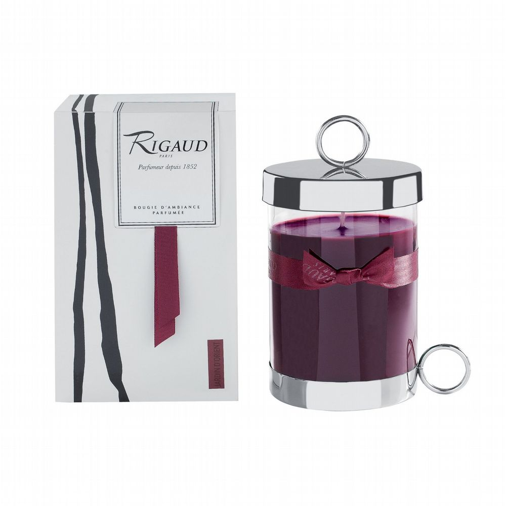 Rigaud - Complete Scented Candle With Lid - Jardin D'Orient